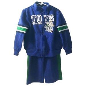 Disney Toy Story Sweat Suit Zip Up Jacket & Pants